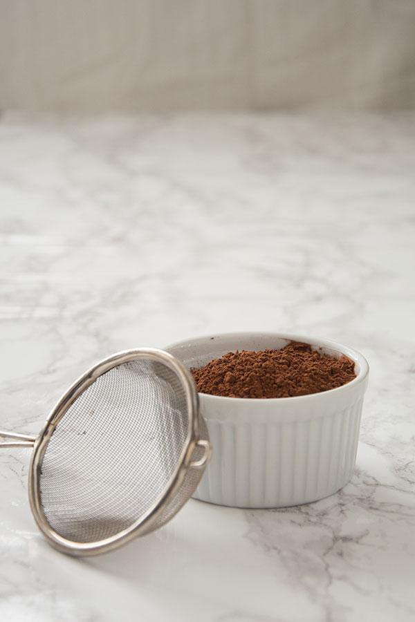 ground cocoa