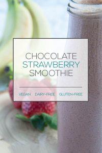 Dairy-free chocolate smoothie