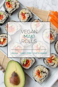 Vegan Maki Rolls