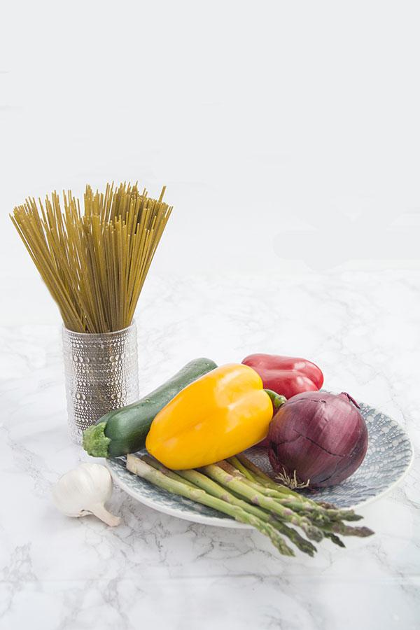 vegetable pasta ingredients