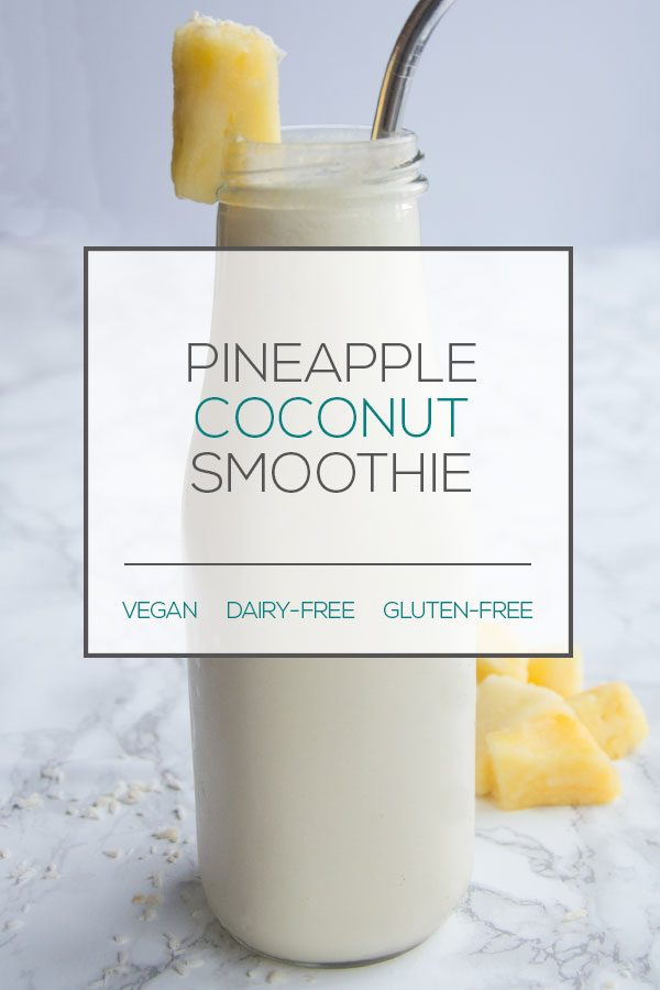 Dairy-Free Pineapple smoothie