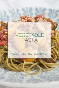 Vegan Vegetable Pasta