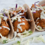 spicy cauliflower tacos