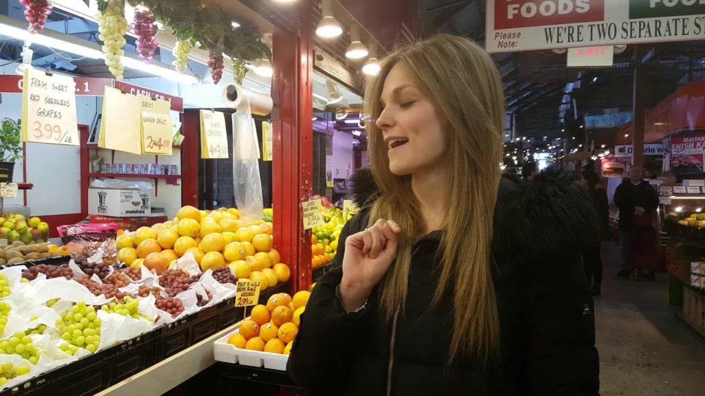 Follow us around: St. Lawrence Market