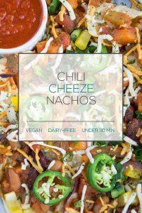 Vegan Chili Nachos