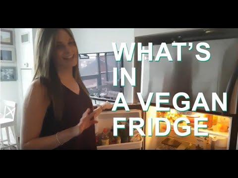 Vegan Fridge Tour!