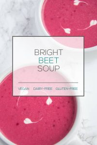 dairy-free beet soup