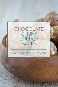 Chocolate Chunk Energy Balls
