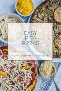 Quick & Easy Pita Pizzas