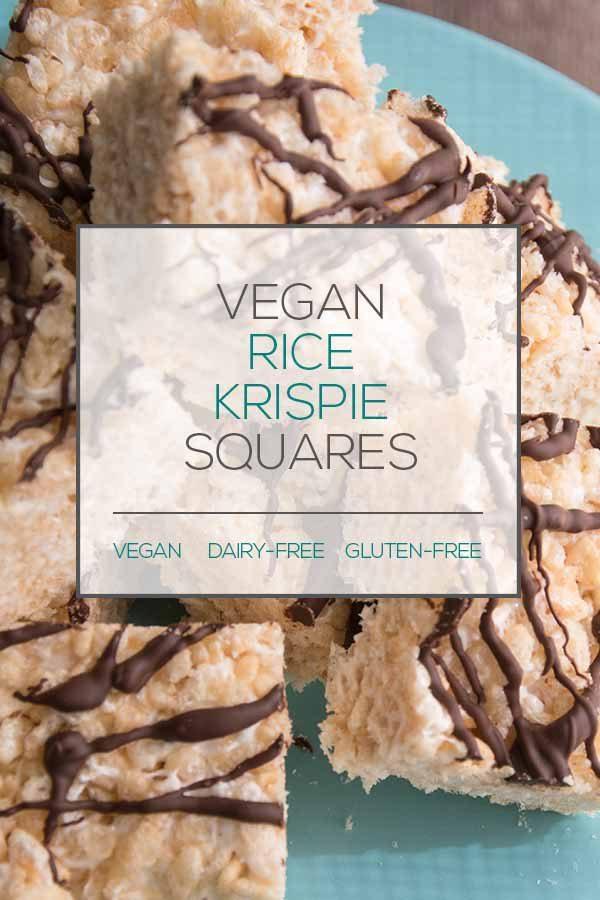 Vegan Rice Krispie Squares