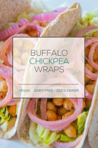 Vegan Chickpea Wrap