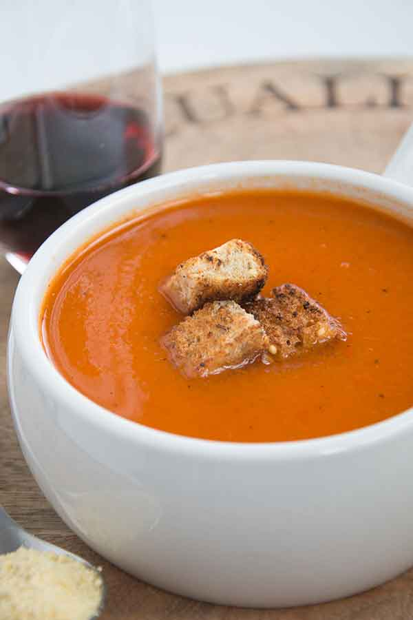 Roasted soup