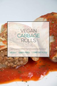 plant-based cabbage rolls