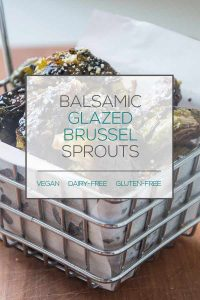 Balsamic-Glazed Brussel Sprouts