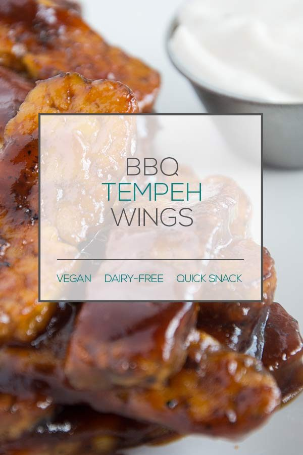 BBQ Tempeh Wings
