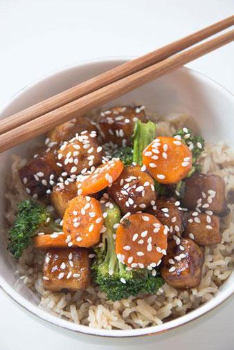 General Tso Tofu