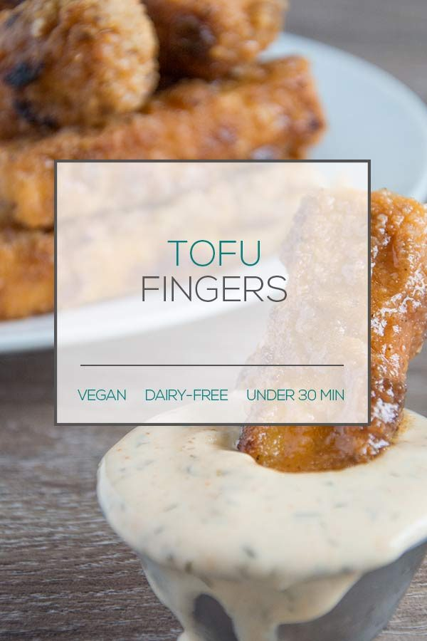 Vegan Tofu Fingers