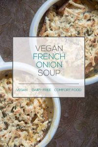 Dairy-Free French Onion Soup