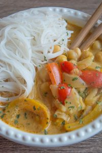 Thai Red Curry Coconut Soup