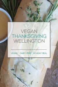 Vegan Thanksgiving Wellington