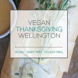 Vegan Thanksgiving Wellington