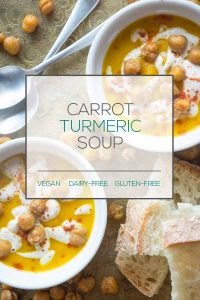 Vegan Carrot Turmeric Soup