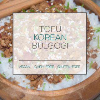 Vegan Tofu Bulgogi