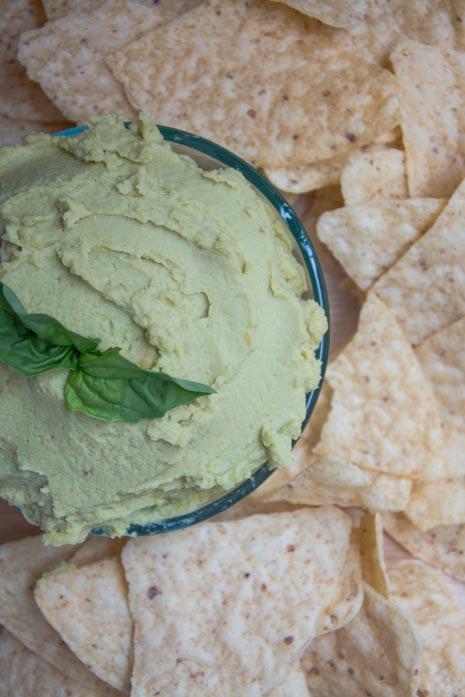 vegan avocado dip