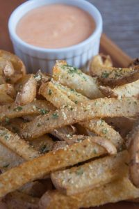 Vegan Jicama Fries