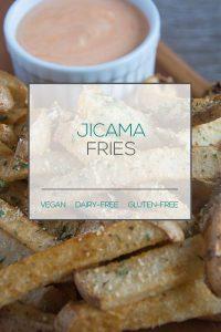 Vegan Jicama Fries