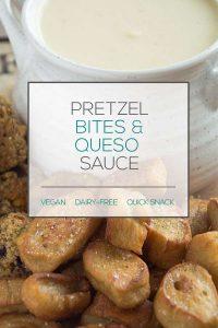 Pretzel Bites & Queso Sauce