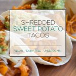 Shredded Sweet Potato Tacos